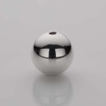 Solid Silver Ball Pendant