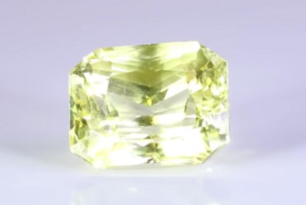 Fine Cut Golden Yellow Sapphire