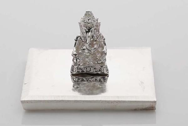 Fine Silver Ganeshji Statue