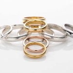 Fine Silver, Gold and Steel Bands