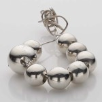 Set of Solid Silver Balls as Pendant v2