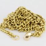 02 Fine Gold Square Chain