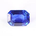Blue Sapphire Em Shape