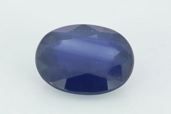 Blue Sapphire Oval Shape