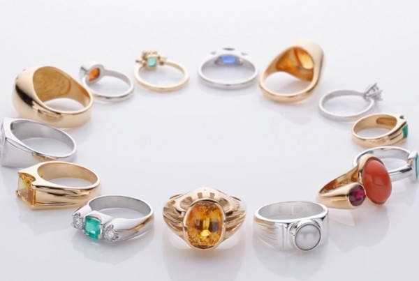 Collection Of Bespoke Design Rings