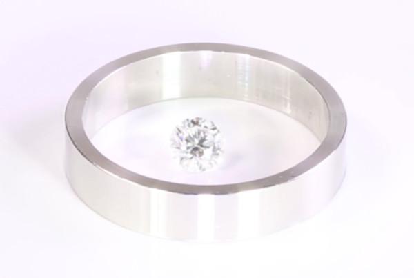 Diamond And Flat Platinum