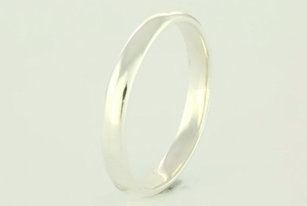 Fine Silver Band Without Joint