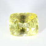 Golden Yellow Sapphire Cushion Shape Loose Stone
