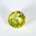 Golden Yellow Sapphire Oval Cut Shape Loose Stone