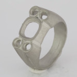 Platinum Single Piece xCasted Ring Bespoke Design