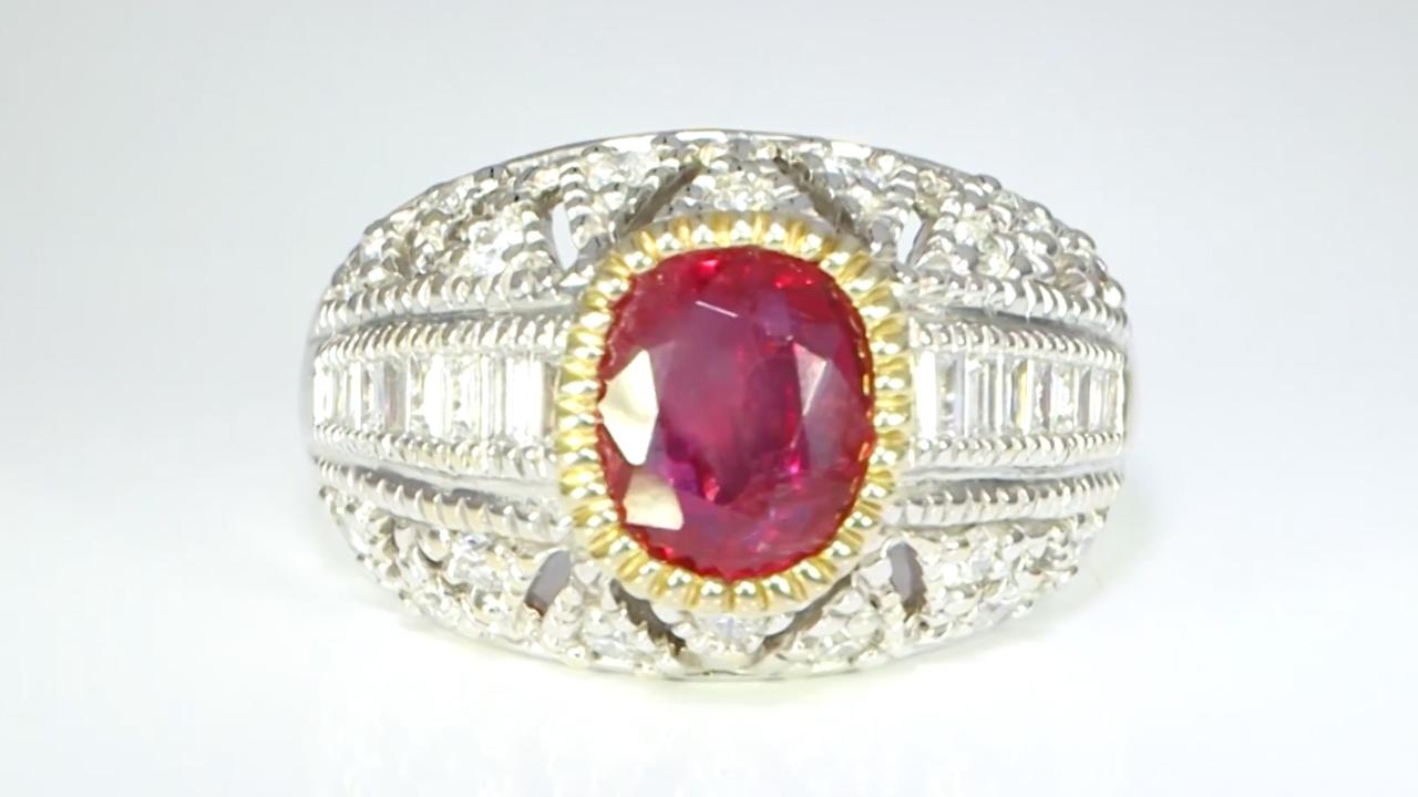 ruby diamonds ring prakash gem merchant jewellers