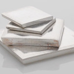 Solid Silver Squares Pieces Cure