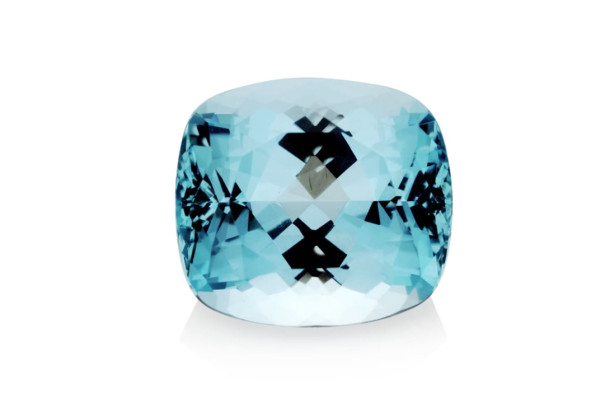 Aquamarine, Blue Sapphire, Burma Blue Sapphire, Real Coral