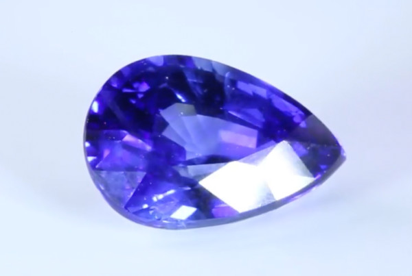 Blue Sapphire Pear Shape