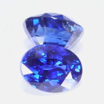 Blue Sapphires Oval Cut