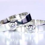 Diamond Rings In Platinum
