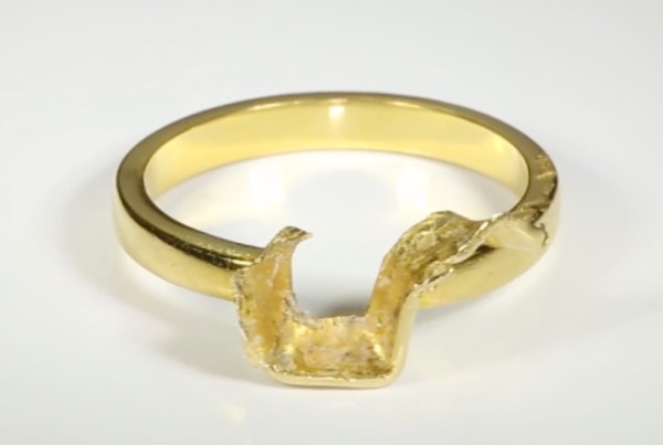 Golden Ring Without Gems