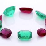 Yellow Sapphire, Aquamarine, Burma Ruby And Diamond