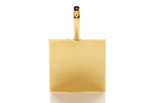 Plain Golden Pendant