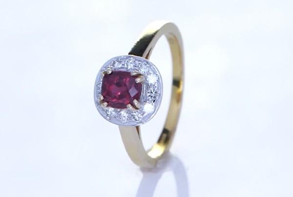 Ruby With Diamonds