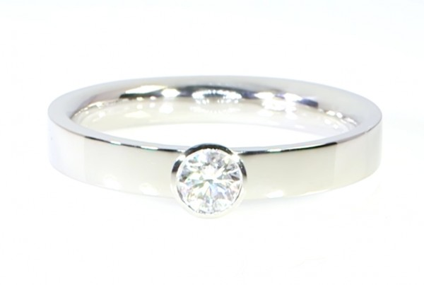 A Diamond In A Silver Ring