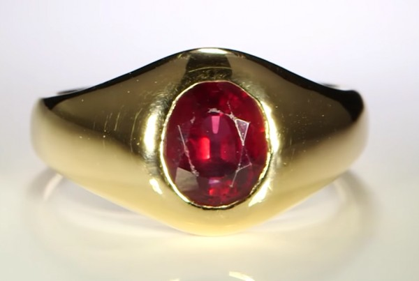 Ruby in A Golden Ring