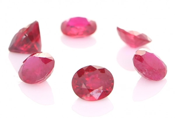 Collection Of Burma Rubies