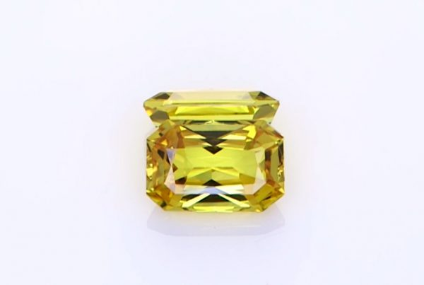 Two Yellow Sapphires