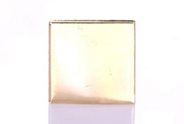 Gold Square Pendant