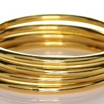 Four Golden Bangles