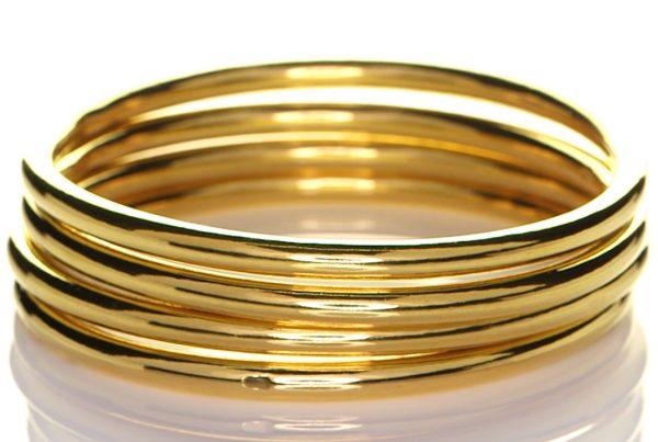 Four Golden Bangles